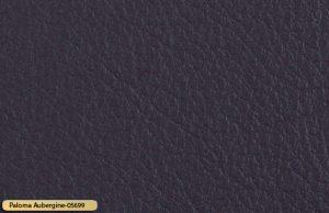 Let korrigeret semi anilin laeder paloma aubergine 05699