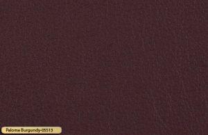 Let korrigeret semi anilin laeder paloma burgundy 05513