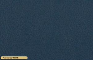 Let korrigeret semi anilin laeder paloma teal 05515