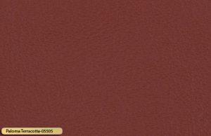 Let korrigeret semi anilin laeder paloma terracotta 05505